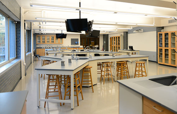 Prep has updated classrooms, labs and athletic facilities