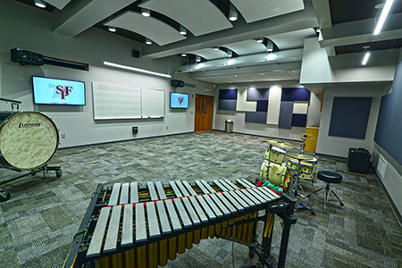 Music Rooms and Labs