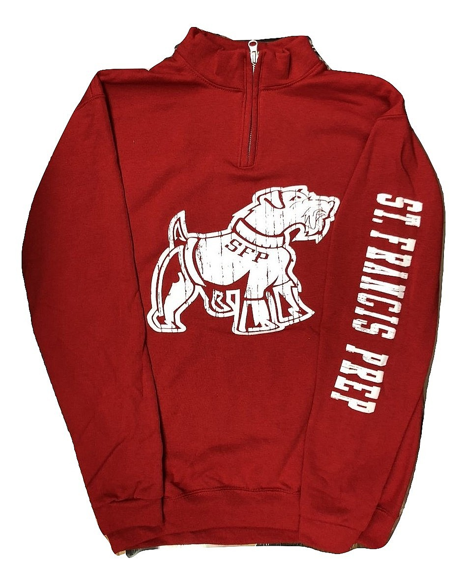 Red Big Dog 1/4 Zip