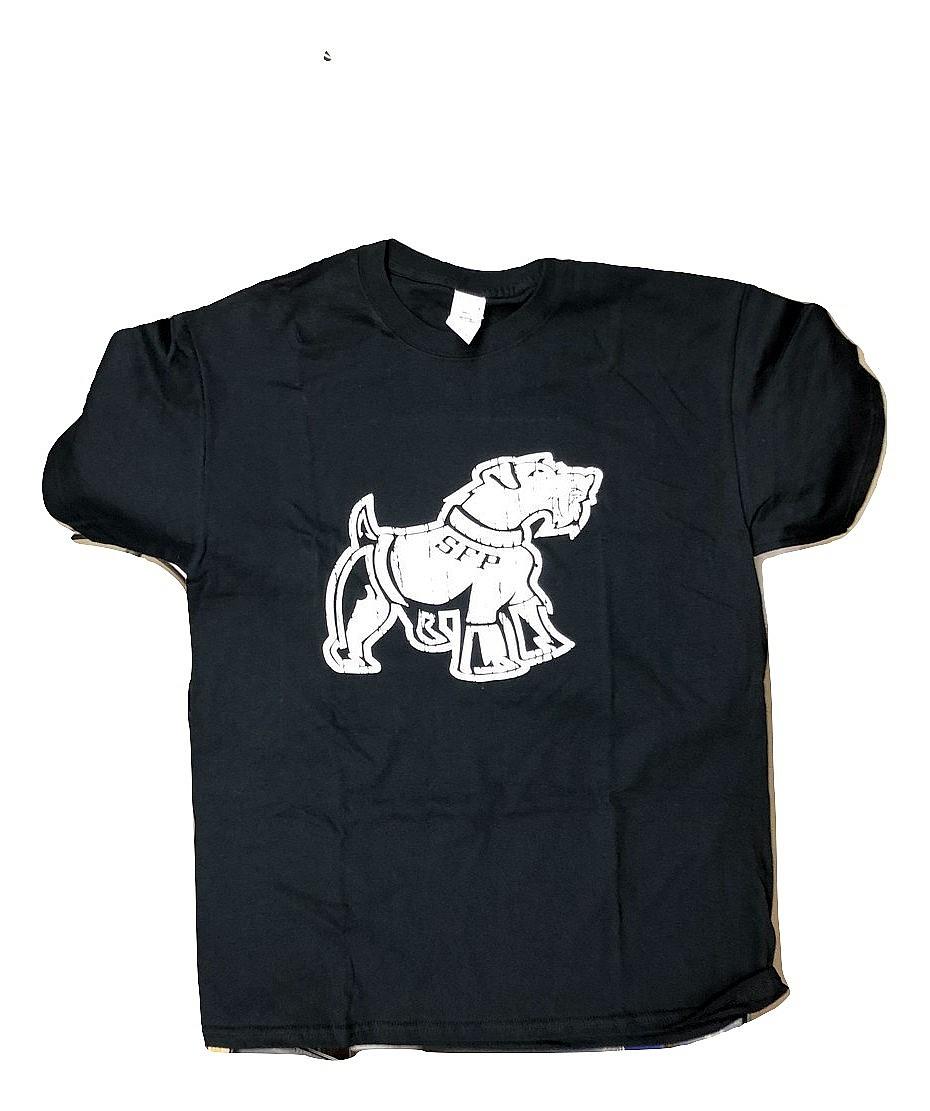 Black Big Dog T-Shirt