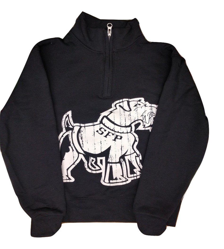 YOUTH 1/4 ZIP Sweater Big Dog